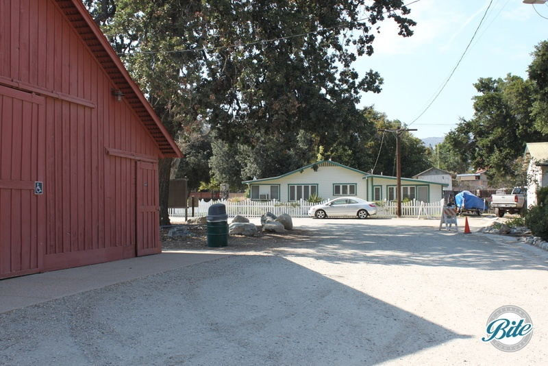 Red Barn next to Orcutt Ranch Historic Residence