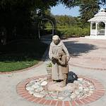 Nun Statue @ Orcutt Ranch