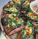Crispy BBQ Salmon