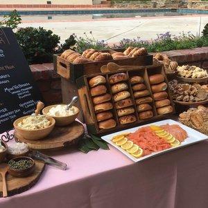 Bread Bar Breakfast Display