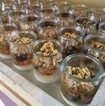 Granola Parfait in Individual Cups