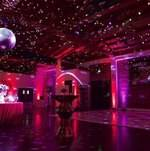 Dance floor w/ disco ball @ At the P