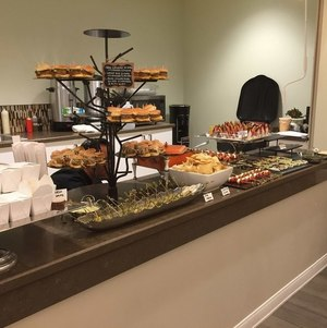 Display of Hors d'Oeuvres