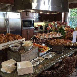 Rustic Breakfast Display in Kitchen