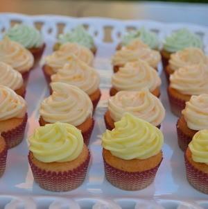 Citrus Cupcakes - Lime, Lemon, and Orange