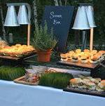 Slider Bar Display with Veggie Chips