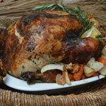 Thanksgiving Turkey w/ Roasted Vegetables