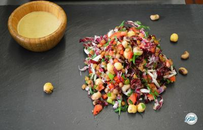 Freekeh Texas Salad