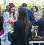 Guests at the Charcuterie Station