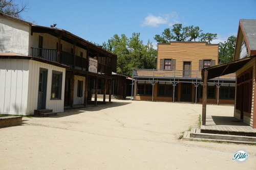 Western Town provides an area that feels like an old Western. Perfect for Western themed events, recreations of favorite movie (or Westworld) scenes, or an old-fashioned ho-down