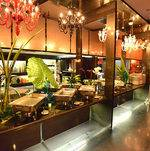 Table for buffet in Casa Murano @ Unici Casa