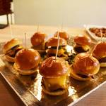 Short Rib Sliders on Tray