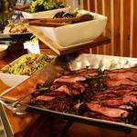 Flank Steak on Buffet