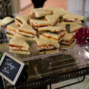 Turkey Brie Tea Sandwiches
