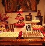Holiday Dessert Display