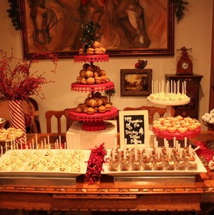 Holiday Dessert Display