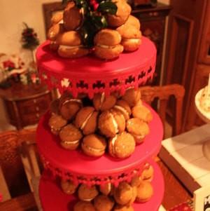 Gingerbread Whoopie Pies on Red Riser