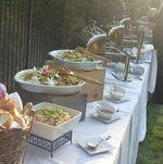 Salads and Bread on the Backyard Buffet