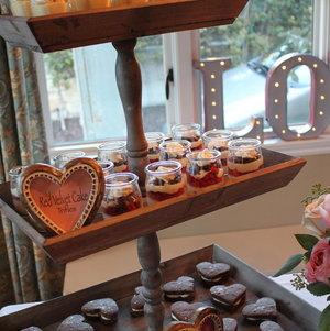 Valentine's Dessert Display