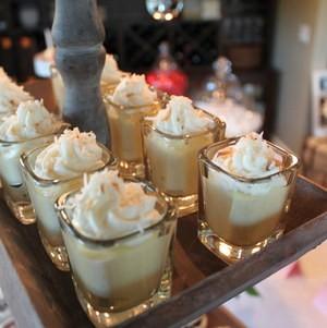Passionfruit Mousse Dessert Shots
