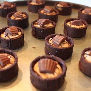 Chocolate Peanut Butter Pies