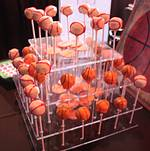 Baseball and Basketball Cheesecake Pops