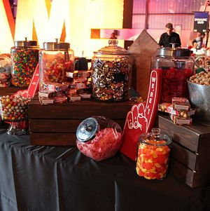 Candy Bar with Game themed display