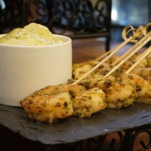Herb Mediterranean Shrimp on Buffet