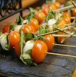 Caprese Skewers on Display