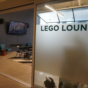 Looking Into the Lego Lounge