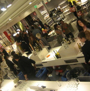 CB2 Opening Party Santa Monica Place