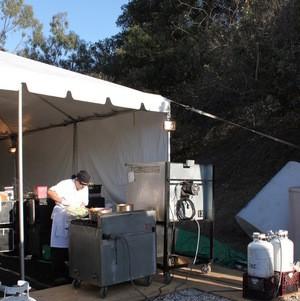 Large Kitchen Tent