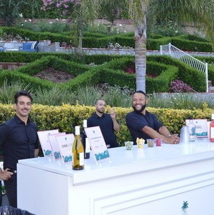 Bartenders at Outdoor Bar