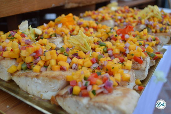Agave Glazed Fish