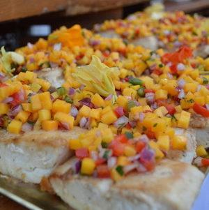 Agave Glazed Fish