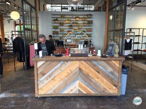 Bar Setup in Store