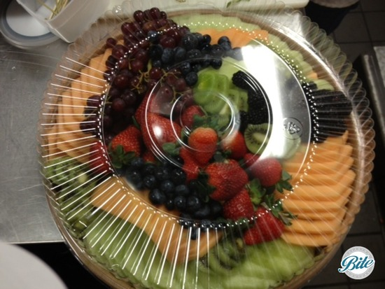 Fruit platter ready to go for delivery!