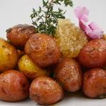 Honey Thyme Glazed Potatoes