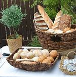 Assorted Breads on Buffet
