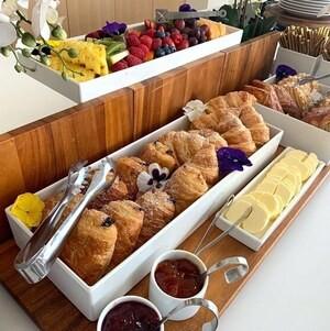 Croissants on Breakfast Display