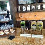 Drink Display on the Bar