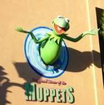 Kermit Greets Visitors
