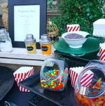 Popcorn Bar Toppings and Candy
