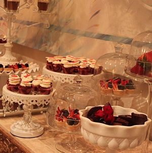 Engagement Party Dessert Display