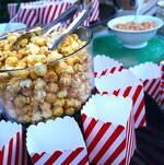Caramel Popcorn Closeup