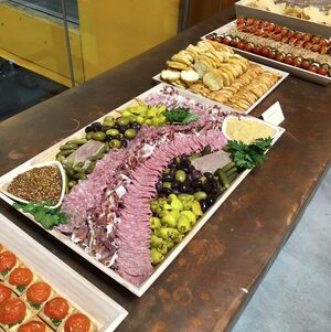 Charcuterie on Table