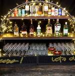 Bar Surrounded With Lights