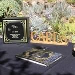 Guest Book with Gatsby Design