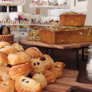 Breakfast Breads Display
