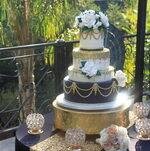 Tiered 1920's Cake